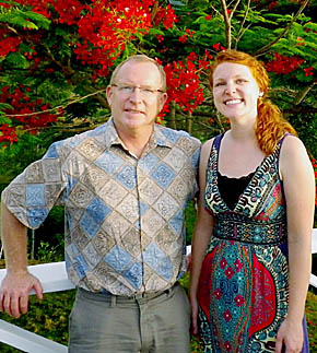 Dr. Tony Kusek and Dr. Kate Kusek in the Dominican Republic.