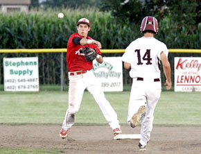 The Albion Cornerstone Seniors put themselves in firm control of the American Legion Area B5 tournament with a 16-4 thrashing of Wakefield Sunday night at ...