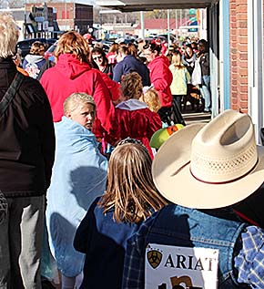 Halloween parade in downtown Albion.