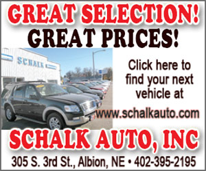 Schalk Auto, Inc. - Great Selection, Great Prices . - Albion, NE - www.schalkauto.com