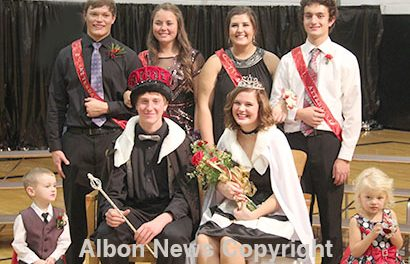 Boone Central Color Day Royalty.