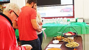 Some of the foods on display at Rae Valley Market last Friday.