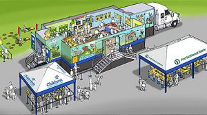 Illustration of the Mobile Children's Museum.