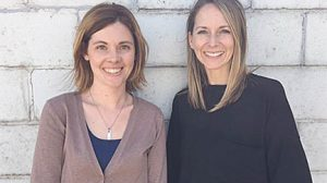 AFTER SCHOOL DIRECTORS -- Taking key roles in the new Boone Central after-school program will be Staci Sandman, l., site director, and Mollie Morrow, program director.