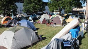 NUMB riders camped over night at the Boone County Fairgrounds Sunday, June 25th.