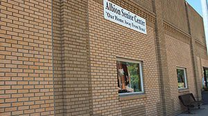 The Albion Senior Center has plans to close in August 2017.