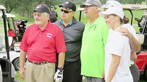 Many Spiegel family members joined area residents for the Dave Spiegel Memorial Tournament.