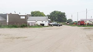 A new water main is planned on Albion's Sale Barn Road.