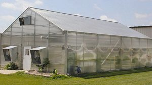 Example of a typical school greenhouse from Stuppy  Greenhouse Manufacturing.